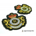 Apprêt mercerie 1 grand patch thermocollant embleme blason university ref206