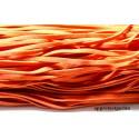 5 mètres de cordon plat en faux daim suédine orange foncé 002Y-47