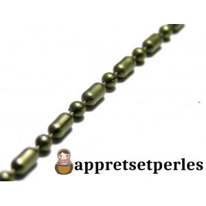 Apprêt bijoux 1 m Bronze Chaine P4Y