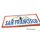 Apprêt mercerie 1  grand patch thermocollant snoopy san francisco ref 203