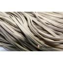 10 mètres de cordon plat en faux daim suédine Beige   002Y-17