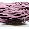 5 mètres de cordon 002Y-15 plat en faux daim suédine violet pourpre