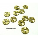 Apprêts et perles: 200 perles intercalaires 2A8805 mini vague Bronze
