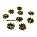 OFFRE SPECIALE: 100 mini coupelles calottes caps P653Y bronze