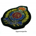 Apprêt mercerie 1 grand patch thermocollant embleme blason university ref139