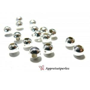 Apprêts pour bijoux: 10 grandes perles 2N6202 intercalaires 12 mm PP