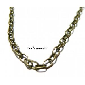 OFFRE SPECIALE 10 mètres PCHT3Y Chaine maille Bronze 3 par 5 mm