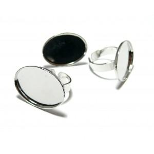 Apprêt Bijoux 10 Support de bague 18 par 25mm qualité Horizontale PP