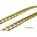 Fournitures pour bijoux: 1 mètre PK1469 grosse Chaine maille Doré