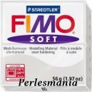 Loisirs créatifs: 1 pain  56g pate polymère FIMO SOFT GRIS REF 80