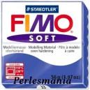 Loisirs créatifs: 1 pain  56g pate polymère FIMO SOFT BLEU Brilliant REF33