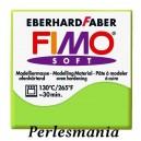 Loisirs créatifs: 1 pain  56g pate polymère FIMO SOFT VERT POMME REF50