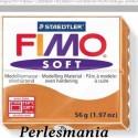 Loisirs créatifs: 1 pain 56g pate polymère FIMO SOFT COGNAC 8020-76