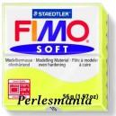 Loisirs créatifs: 1 pain  56g pate polymère FIMO SOFT CITRON REF10