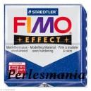 Loisirs créatifs: 1 pain  56g pate polymère FIMO EFFECT BLEU effet pailletée  ref 302