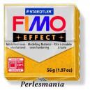 Loisirs créatifs: 1 pain  56g pate polymère FIMO EFFECT OR effet pailletée  ref 112