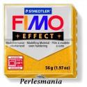 pain 56g pate polymère FIMO EFFECT OR effet pailletée ref 112