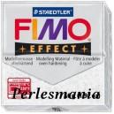 Loisirs créatifs: 1 pain  56g pate polymère FIMO EFFECT BLANC effet pailletée  ref 052