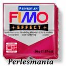 Loisirs créatifs: 1 pain  56g pate polymère FIMO EFFECT RUBIS effet Metallique  ref 28