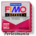1 pain 56g pate polymère FIMO EFFECT RUBIS effet Metallique 8020-28