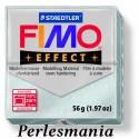 1 pain 56g pate polymère FIMO EFFECT ARGENT effet Metallique 8020-81