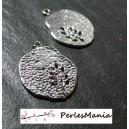 Fournitures loisirs créatifs: 10 pendentifs L'arbre Stylisé PM Argent Platine OB14720