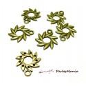 10 pendentifs soleil fleur Bronze ref285 breloques pour création de bijoux