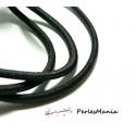 5 mètres élastique gros modèle 4mm noir pour création collier, headband...
