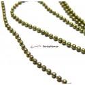 10 mètres PCHB001Y Chaine maille bille 1.5mm Bronze fournitures pour création de bijoux