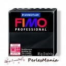 Loisirs créatifs: 1 PAIN PATE FIMO PROFESSIONAL NOIR 85gr  REF 8004-9