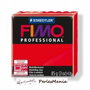 Loisirs créatifs: 1 PAIN PATE FIMO PROFESSIONAL ROUGE 85gr REF 8004-200