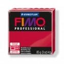 Loisirs créatifs: 1 PAIN PATE FIMO PROFESSIONAL CARMIN 85gr REF 8004-29
