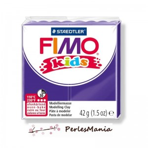 1 PAIN PATE FIMO KIDS VIOLET 42gr REF 8030-6