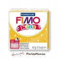 1 PAIN PATE FIMO KIDS OR A PAILLETTE 42gr REF 8030-112
