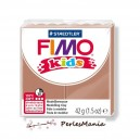 1 PAIN PATE FIMO KIDS CHATAIN CLAIR 42gr  REF 8030-71