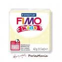 1 PAIN PATE FIMO KIDS JAUNE PERLE 42gr REF 8030-106