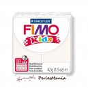 1 PAIN PATE FIMO KIDS BLANC 42gr  REF 8030-0 MODELAGE