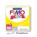 1 PAIN PATE FIMO KIDS JAUNE 42gr REF 8030-1 MODELAGE