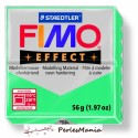 1 pain 56g pate polymère FIMO EFFECT VERT TRANSPARENT 8020-504