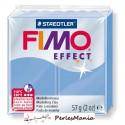 1 pain 56g pate polymère FIMO EFFECT BLEU AGATE 8020-386