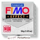 1 pain  56g pate polymère FIMO EFFECT BLANC PAILLETE 8020-052