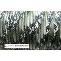 1m cordon 4mm Imitation serpent Noir et blanc HD21