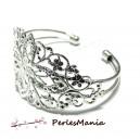 """4 support bracelet """"filigrane"""" ARGENT PLATINE """""""