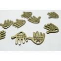 10 pièces pendentif hand made fait main métal Bronze