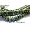 Apprêt et perles: 10 rondelles Turquoise Africaine 2x4mm SL11511-1