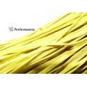 5 mètres de cordon plat en faux daim suédine jaune canaris 002Y-49