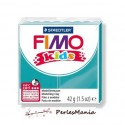 1 PAIN PATE FIMO KIDS TURQUOISE 42gr  REF 8030-39 MODELAGE