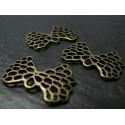 10 pièces nœud lotus ref A16734