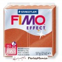 1 pain 56g pate polymère FIMO EFFECT CUIVRE METALLISE 8020-27