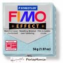 1 pain 56g pate polymère FIMO EFFECT ARGENT PAILLETTE 8020-812, diy